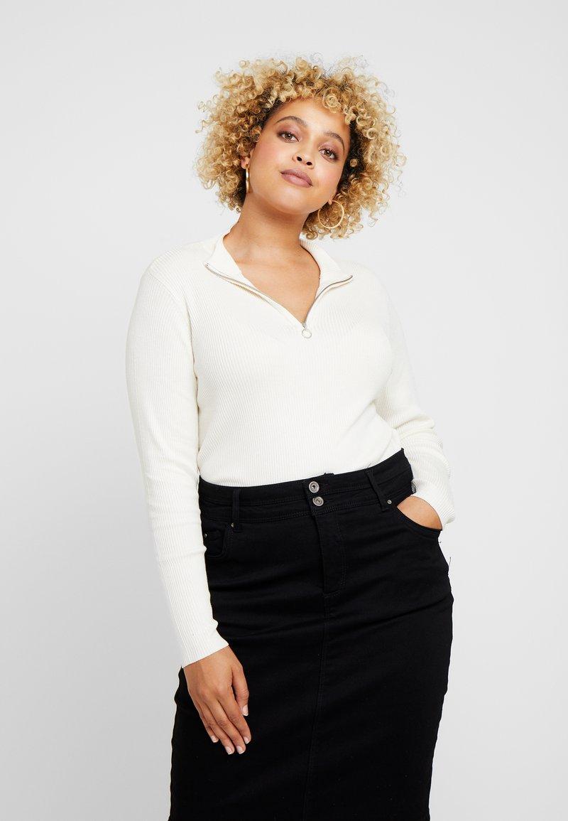 Vero Moda Curve - Pullover - pristine/antique