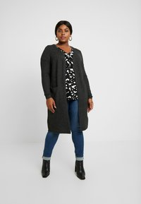 Vero Moda Curve - Cardigan - black/melange - 0