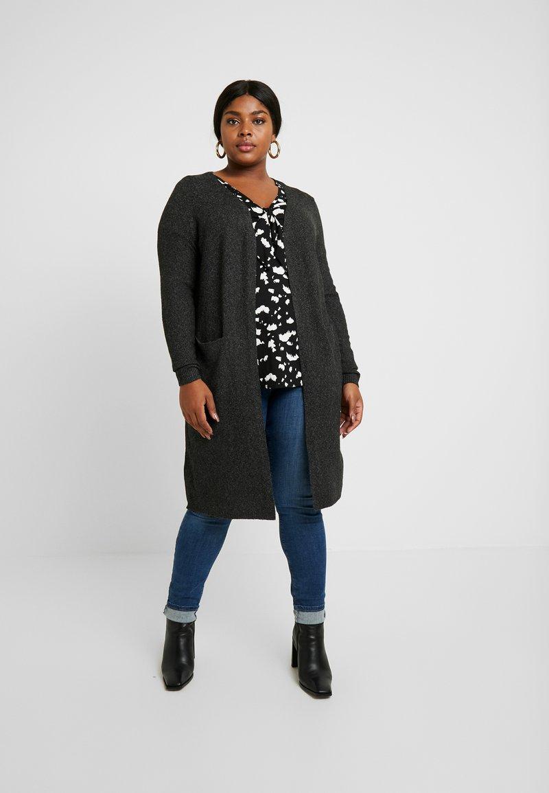 Vero Moda Curve - Cardigan - black/melange