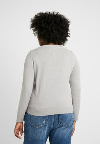 Vero Moda Curve - Jumper - light grey melange - 2