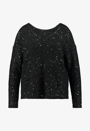 VMNEWLEILANI V-BACK - Pullover - black/silver
