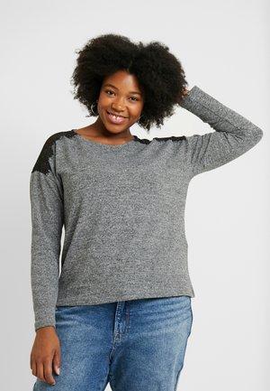 VMMALENA - Sweter - medium grey melange
