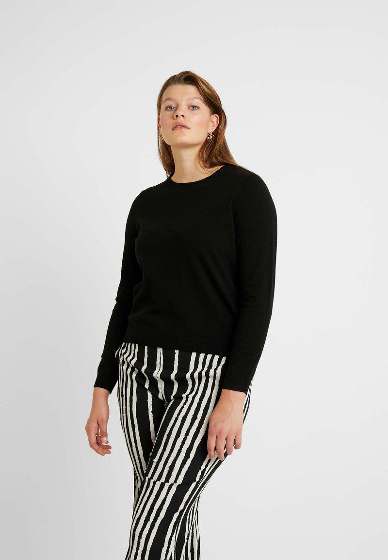 Vero Moda Curve - VMHAPPY - Pullover - black