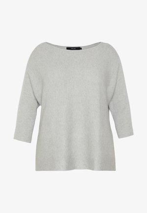 VMNORA  - Strickpullover - light grey melange
