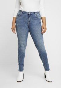 Vero Moda Curve - VMTERESA - Jeans Skinny Fit - medium blue denim - 0