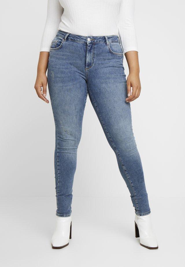 VMTERESA - Jeans Skinny Fit - medium blue denim