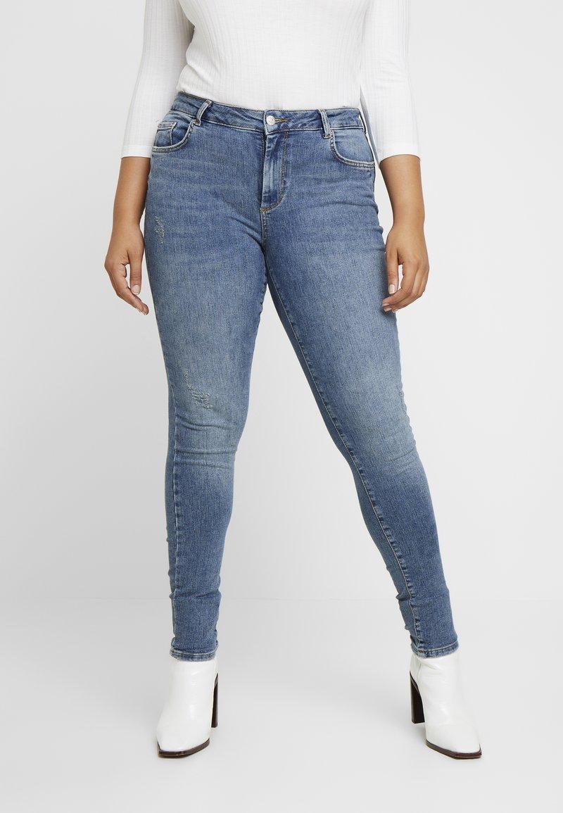 Vero Moda Curve - VMTERESA - Jeans Skinny Fit - medium blue denim