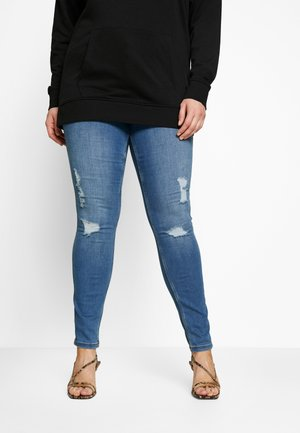 VMSEVEN SHAPE CURVE - Jeans Skinny Fit - blue denim