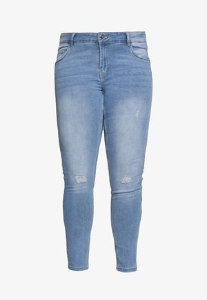VMSEVEN SHAPE UP - Skinny-Farkut - light blue denim