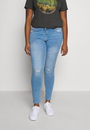 VMSEVEN SHAPE UP - Jeans Skinny - light blue denim