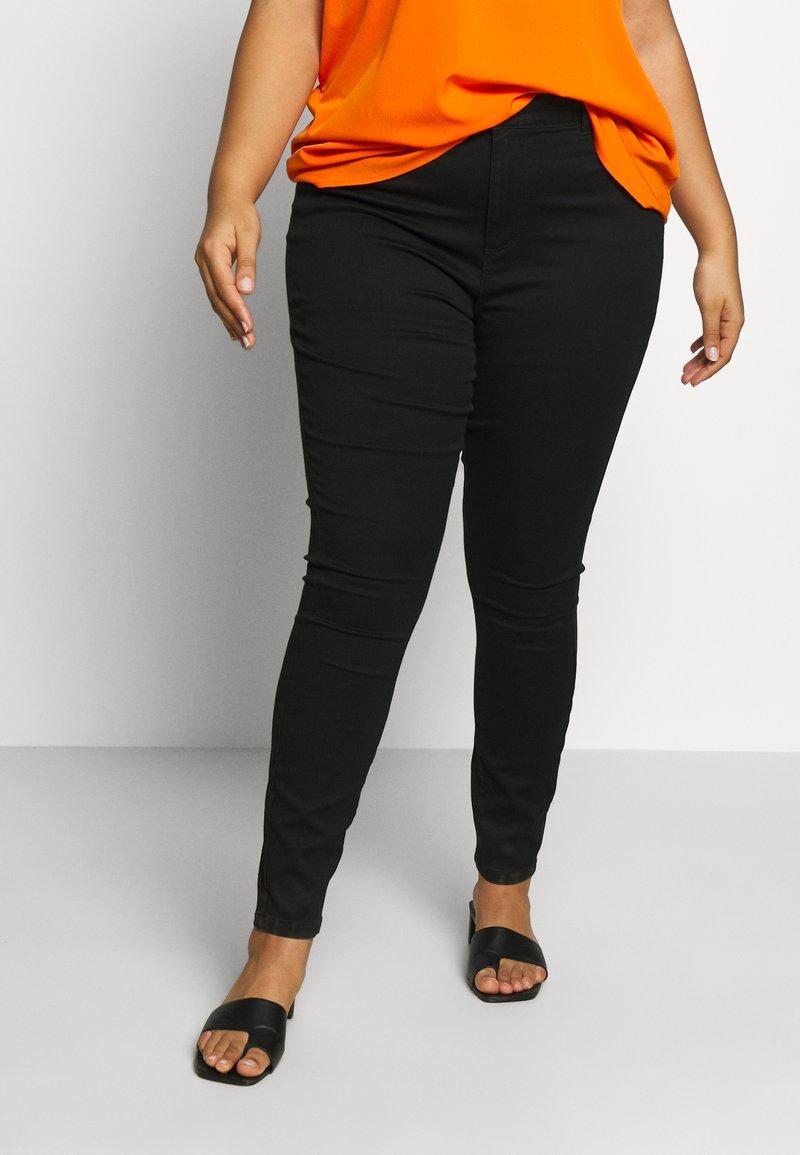 Vero Moda Curve - VMSOPHIA  - Skinny džíny - black