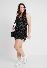 Vero Moda Curve - VMSIMPLY EASY - Shorts - black - 1