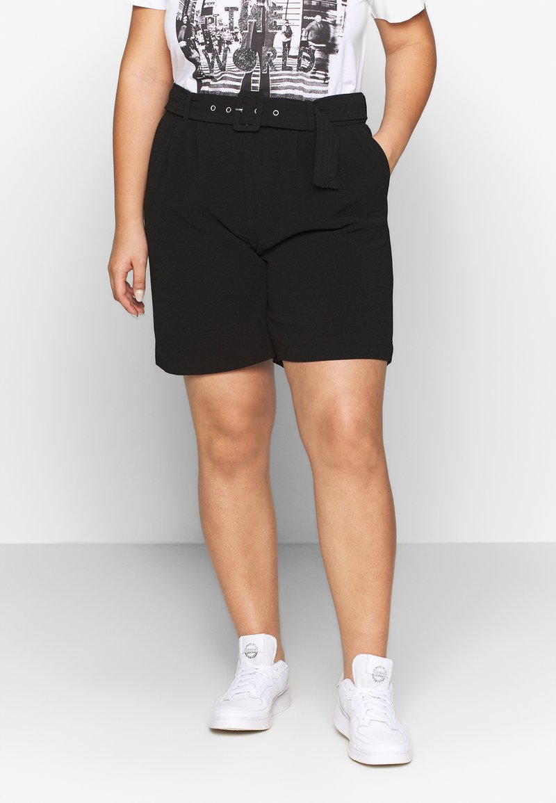 Vero Moda Curve - VMGOIA VIP CURVE - Short - black