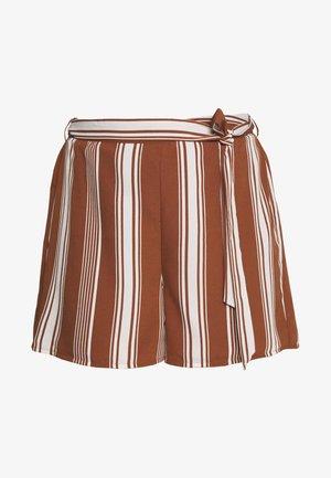 VMATHENS - Shorts - tortoise shell/birch
