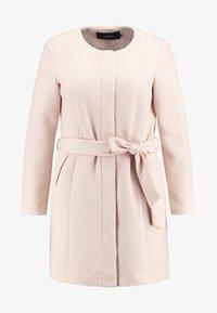 Vero Moda Curve - Zimní kabát - mocha mousse - 4