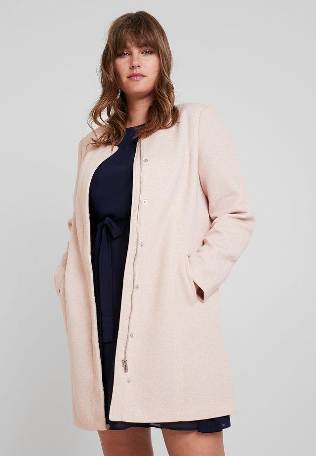 Classic coat - mocha mousse