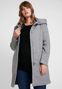 Vero Moda Curve - Mantel - light grey melange - 0