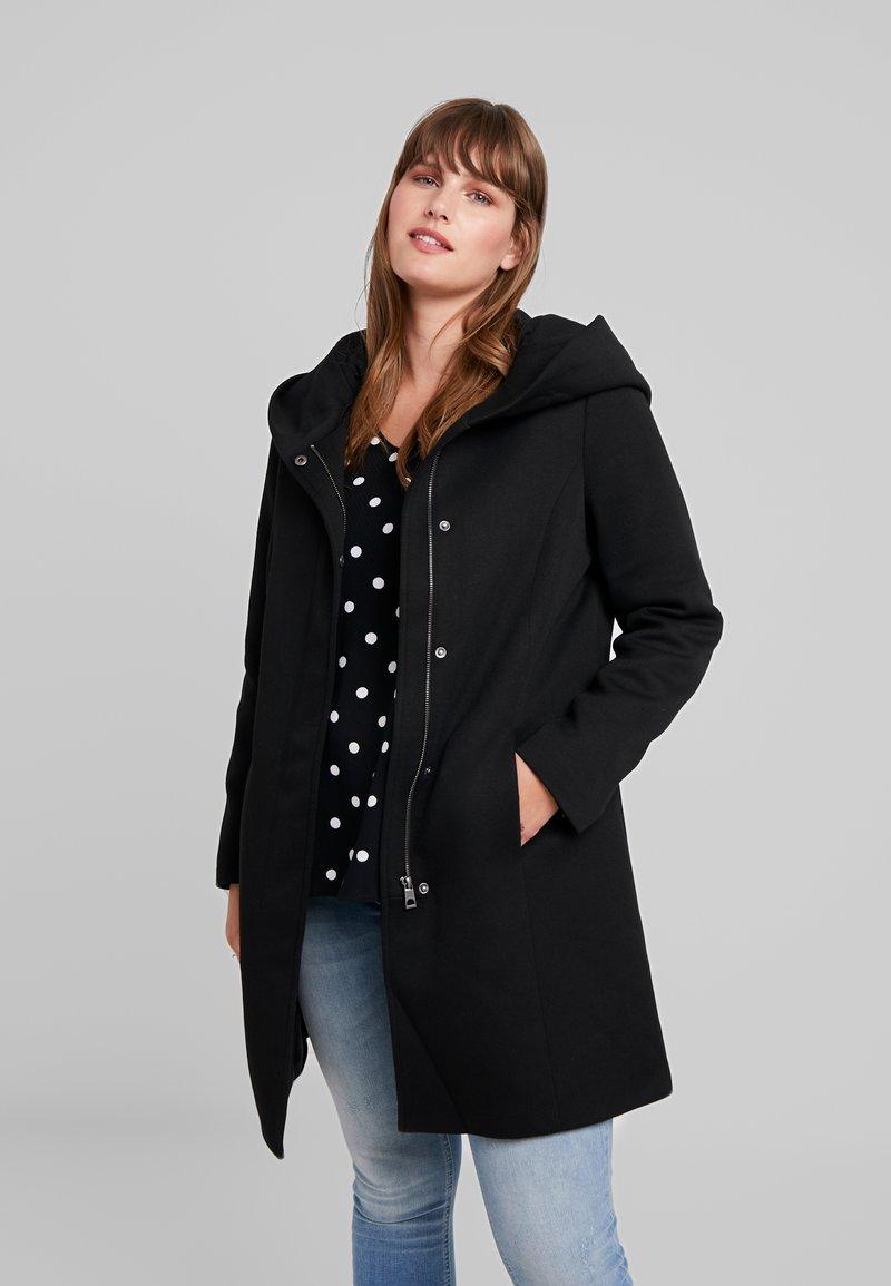 Vero Moda Curve - VMVERODONA - Cappotto corto - black