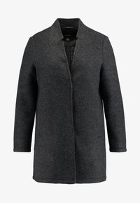 Vero Moda Curve - VMBRUSHED KATRINE  - Short coat - dark grey melange - 3
