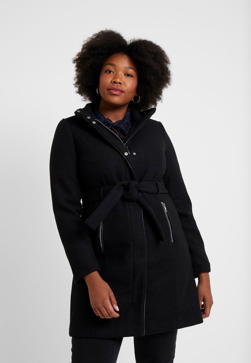 Vero Moda Curve - VMBESSY CLASS - Abrigo corto - black