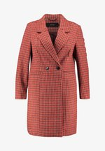 Classic coat - high risk red