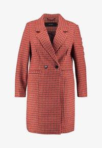 Vero Moda Curve - Zimní kabát - high risk red - 3