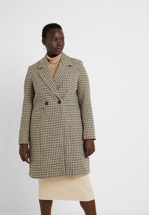Zimní kabát - tobacco brown
