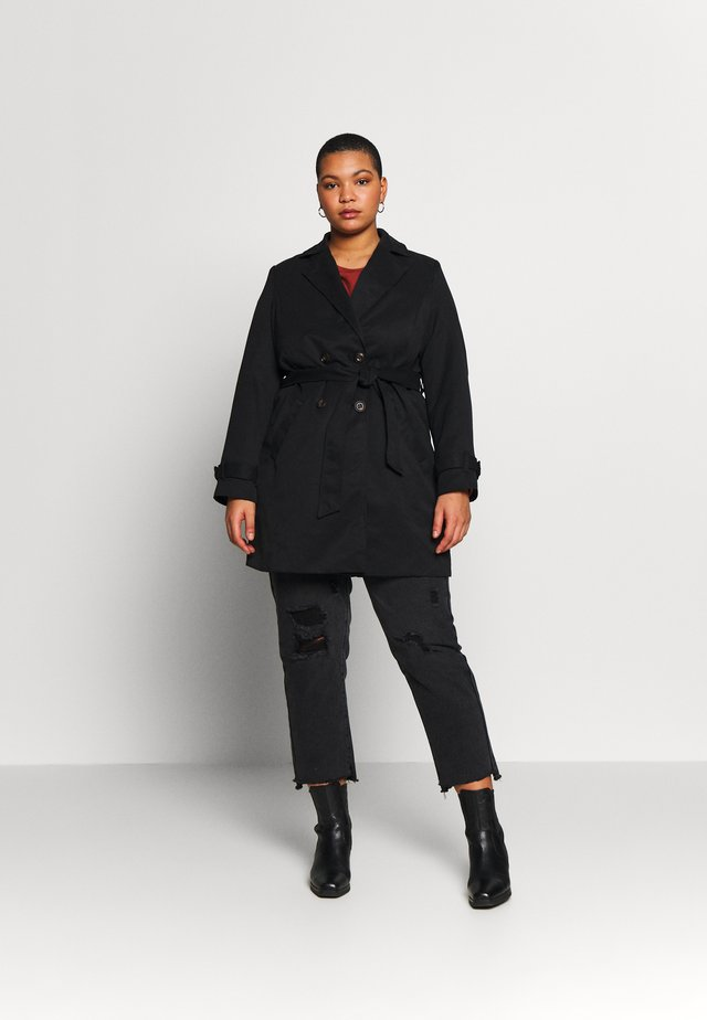 VMBERTA JACKET - Trenchcoats - black