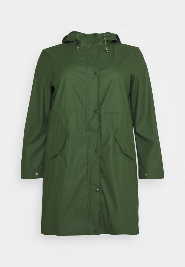 VMFRIDAYMUSIC COATED JACKET  - Waterproof jacket - black forest