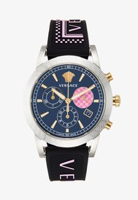 Versace Watches - SPORT TECH - Zegarek chronograficzny - black - 1