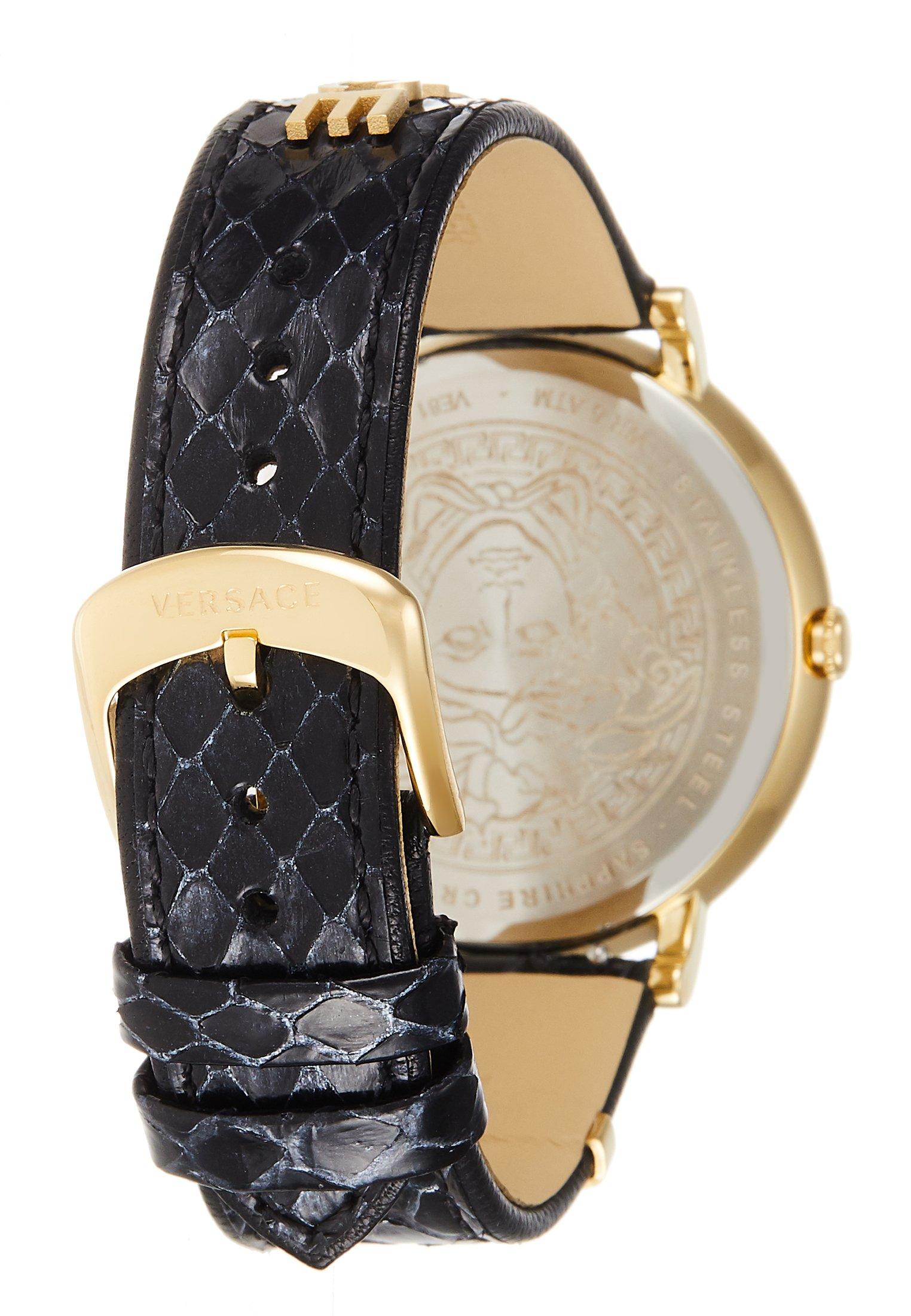 Versace Watches Black EditionMontre Circle Logomania 8vNn0wm