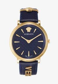 Versace Watches - CIRCLE LOGOMANIA EDITION - Klokke - blue - 1