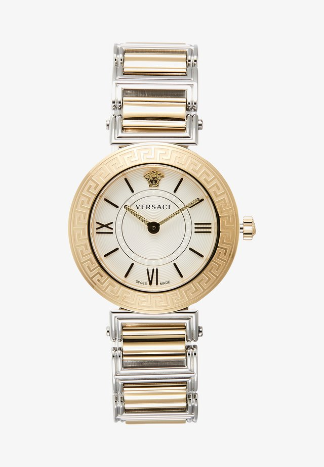 TRIBUTE - Horloge - silver-coloured/gold-coloured