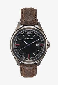 Versace Watches - GLAZE - Zegarek - brown - 3