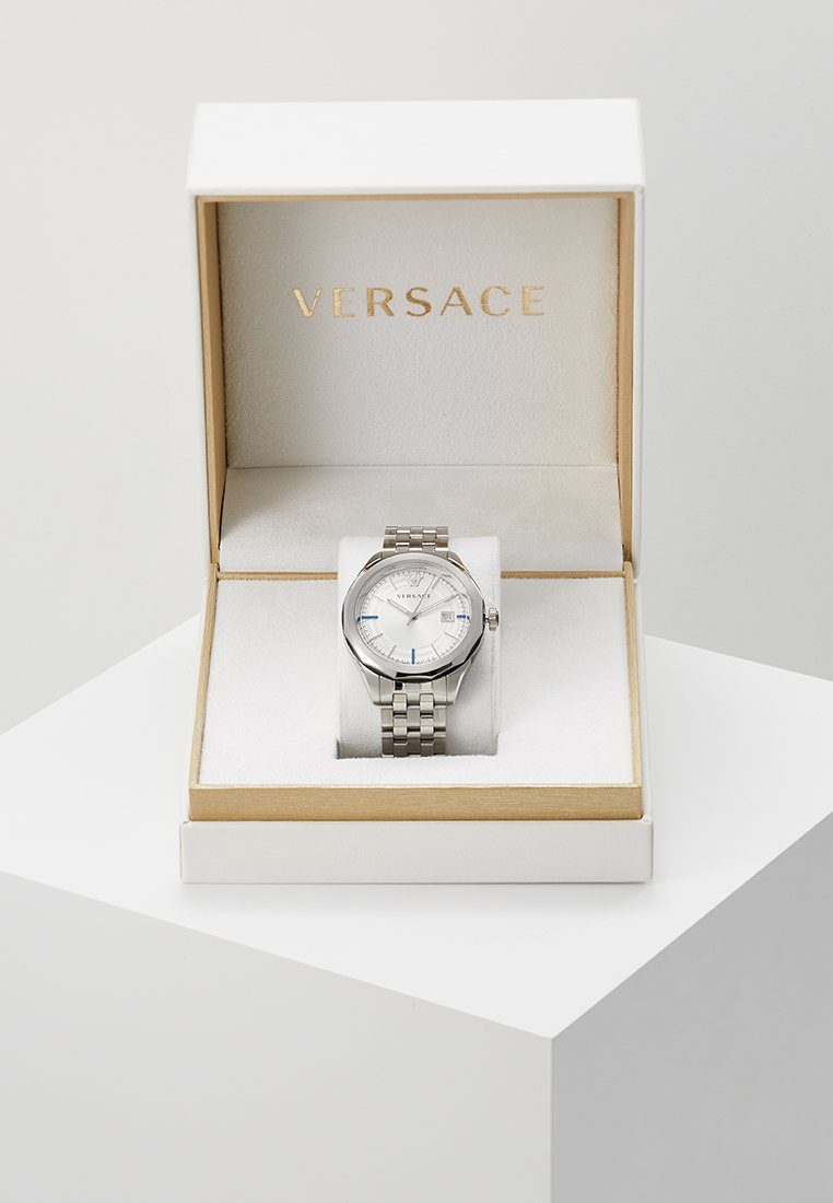 Versace Watches - GLAZE - Orologio - silver-coloured