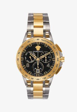 SPORT TECH - Chronograph watch - gold-coloured/gun