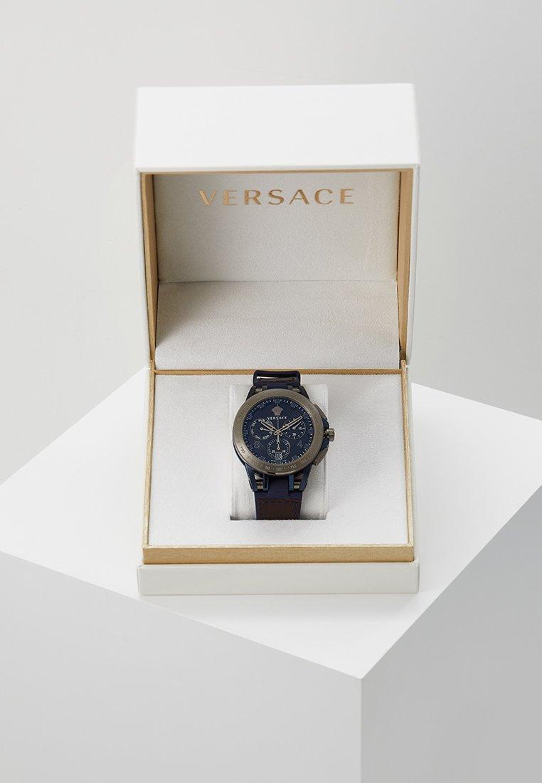 Versace Watches - SPORT TECH - Montre à aiguilles - blue