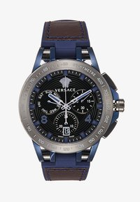 Versace Watches - SPORT TECH - Montre à aiguilles - blue - 3