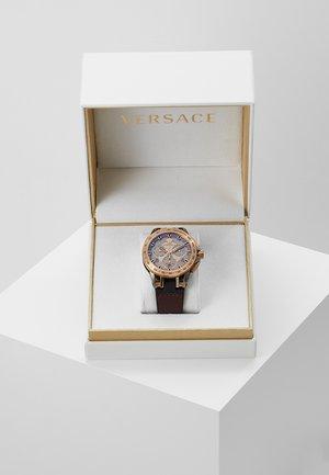 SPORT TECH - Zegarek chronograficzny - brown