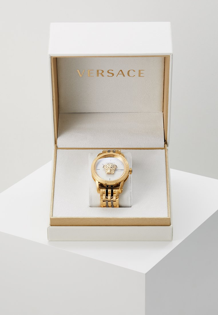 Versace Watches - PALAZZO EMPIRE - Horloge - gold-coloured/gunmetal