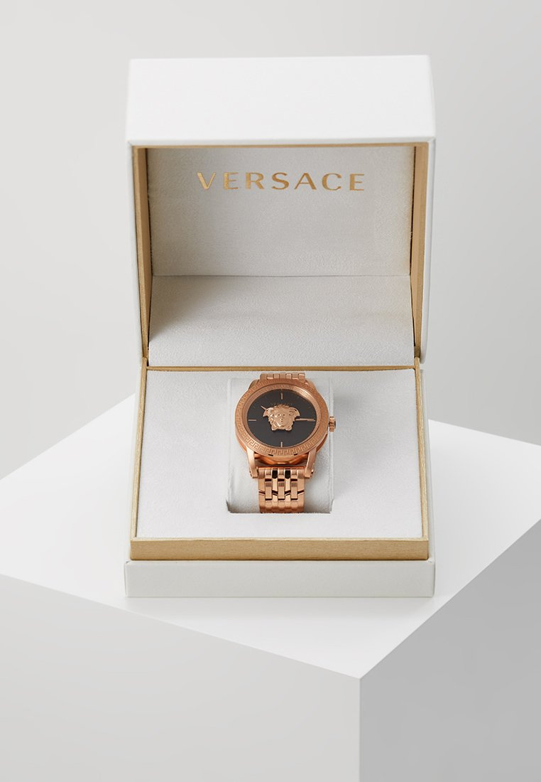 Versace Watches - PALAZZO EMPIRE - Montre - rosegold-coloured/gunmetal