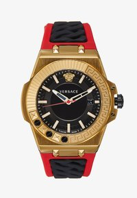 Versace Watches - CHAIN REACTION - Montre - red/gold-coloured - 0