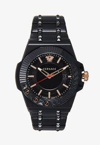 Versace Watches - CHAIN REACTION - Horloge - black - 0