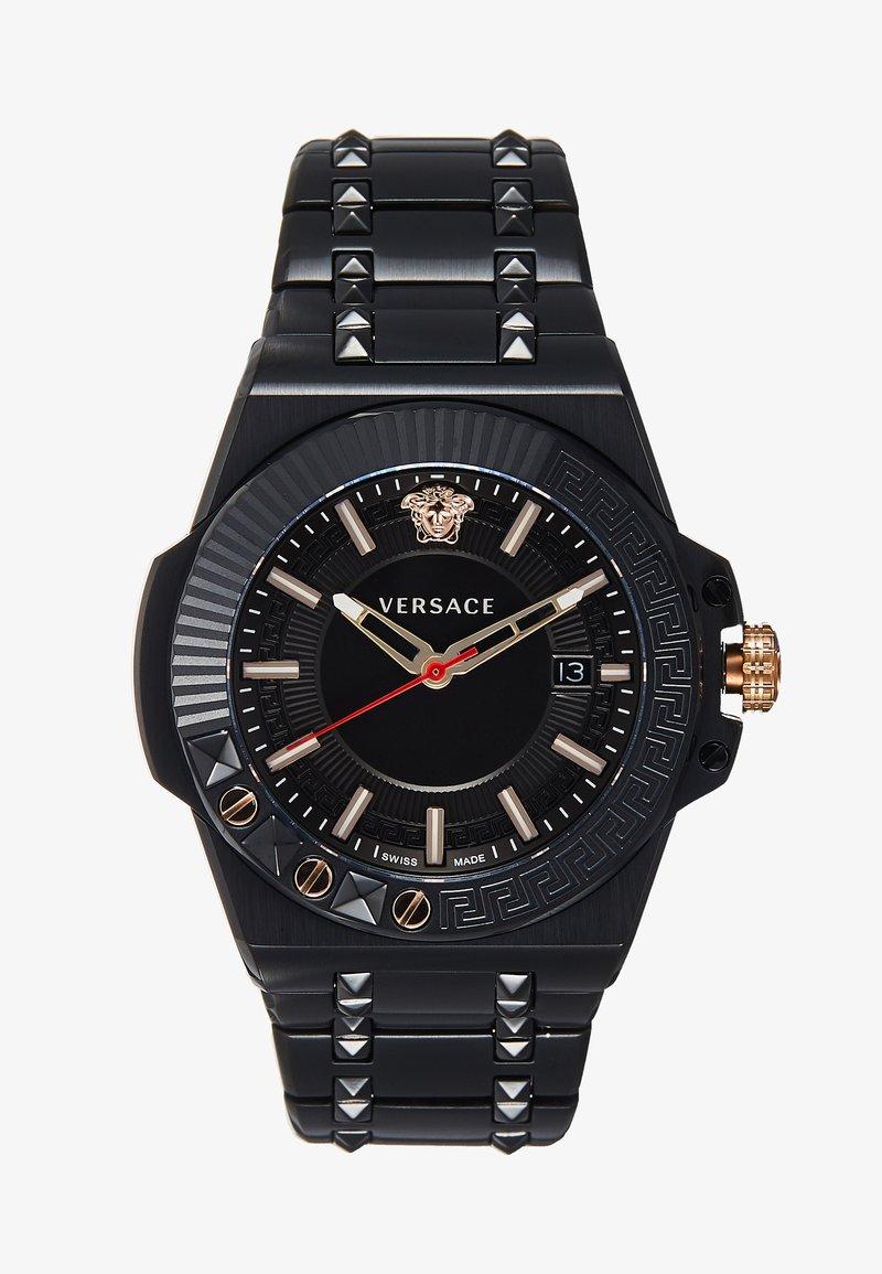Versace Watches - CHAIN REACTION - Horloge - black