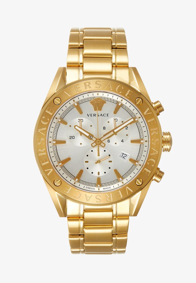 V- CHRONO - Chronograph watch - gold-coloured