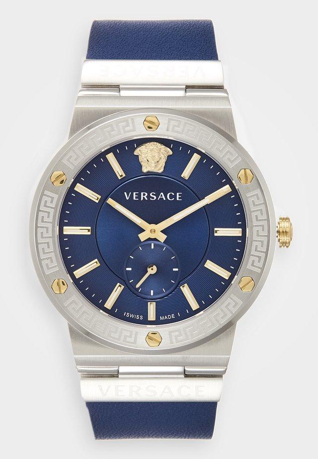 GRECA LOGO - Watch - blue/silver-coloured