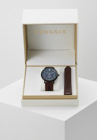 Versace Watches - V-CIRCLE THE MANIFESTO EDITION - Uhr - black/brown - 0
