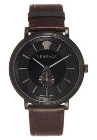Versace Watches - V-CIRCLE THE MANIFESTO EDITION - Uhr - black/brown - 6
