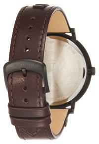 Versace Watches - V-CIRCLE THE MANIFESTO EDITION - Uhr - black/brown - 5