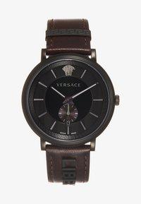 Versace Watches - V-CIRCLE THE MANIFESTO EDITION - Uhr - black/brown - 4